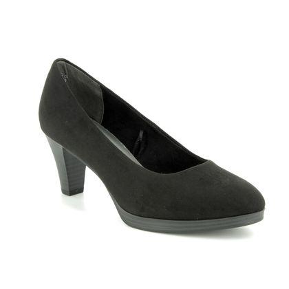 Marco Tozzi Court Shoes - Black - 22413/32/001 KOBI