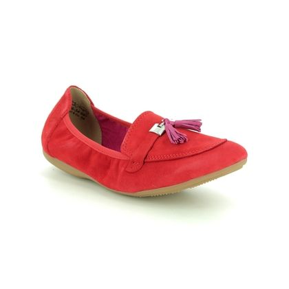 Marco Tozzi Loafers and Moccasins - Red multi - 24206/34/597 LINDASSLE