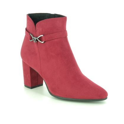 Marco Tozzi Heeled Boots - Red - 25349/25/500 LODE