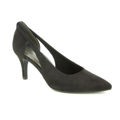Marco Tozzi Court Shoes - Black - 22444/22/001 OLA