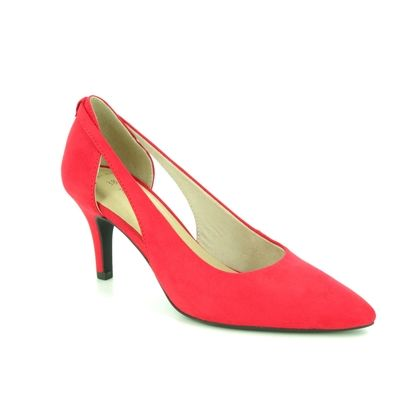 Marco Tozzi Court Shoes - Red - 22444/22/500 OLA