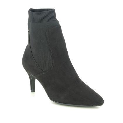 Marco Tozzi Heeled Boots - Black - 25392/25/098 OLA
