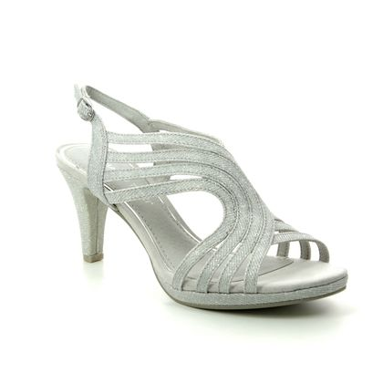 Marco Tozzi Heeled Sandals - Silver - 28329/22/941 PADUCA