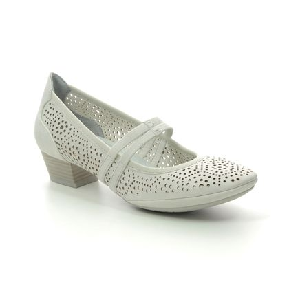 Marco Tozzi Mary Jane Shoes - Off-white - 24503/24/133 PAVOBAR 01