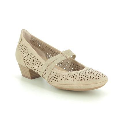 Marco Tozzi Mary Jane Shoes - Beige - 24503/24/404 PAVOBAR 01