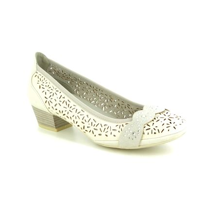 Marco Tozzi Court Shoes - Light Grey - 22505/22/256 PAVOPERF 91