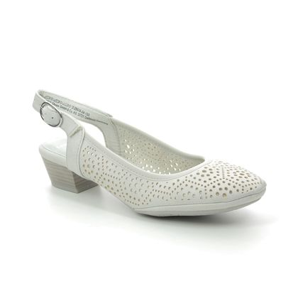 Marco Tozzi Slingback Shoes - Off-white - 29510/24/133 PAVOSLI