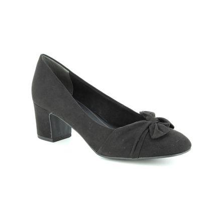 Marco Tozzi Court Shoes - Black - 22430/21/001 PERIBOW