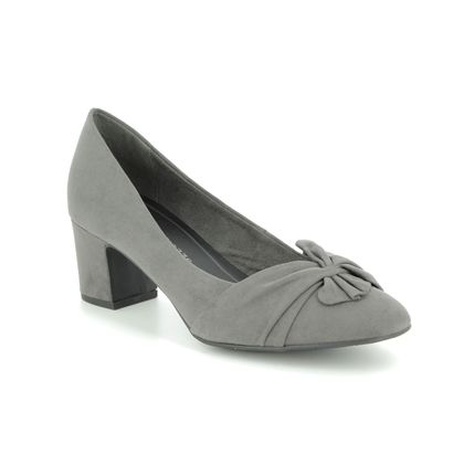 Marco Tozzi Court Shoes - Grey - 22430/21/239 PERIBOW