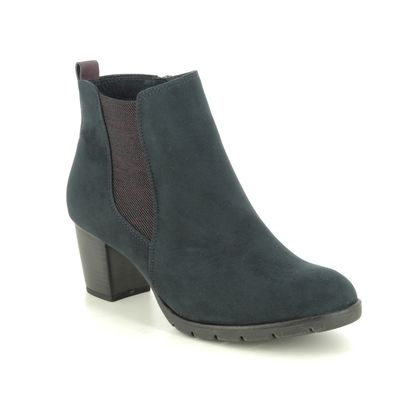 Marco Tozzi Fashion Ankle Boots - Navy - 25355/35/888 PESA   05