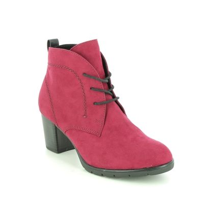 Marco Tozzi Heeled Boots - Red - 25107/27/597 PESALOW