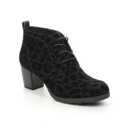 Marco Tozzi Lace Up Boots - Black - 25107/35/053 PESALOW