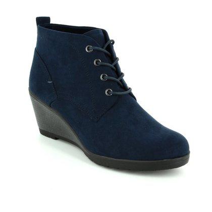 Marco Tozzi Fashion Ankle Boots - Navy - 25111/805 RANCO 72