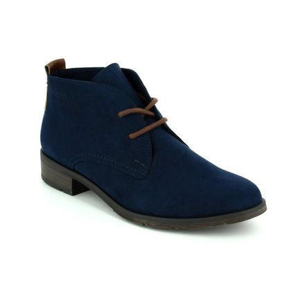 Marco Tozzi Fashion Ankle Boots - Navy - 25101/890 RAPALL
