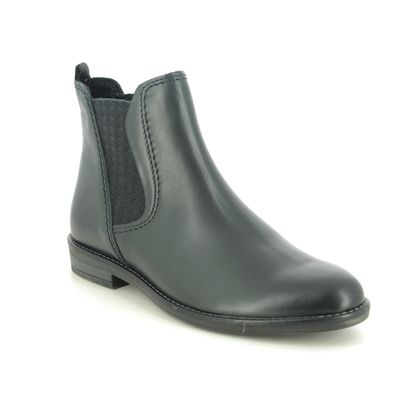 Marco Tozzi Chelsea Boots - Navy Leather - 25366/35/892 RAPALLIL 05