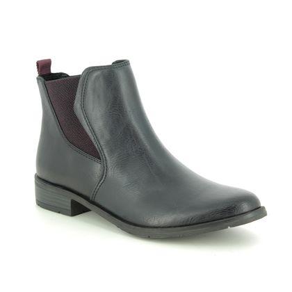 Marco Tozzi Chelsea Boots - Navy - 25040/33/892 RAPALLIL