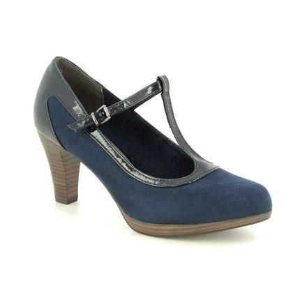 Marco Tozzi Heeled Shoes - Navy - 24411/32/890 SENAGOBAR