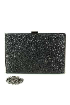 Marina Galanti Occasion Handbags - Black Glitz - 63003/30 63003-2 BLACK