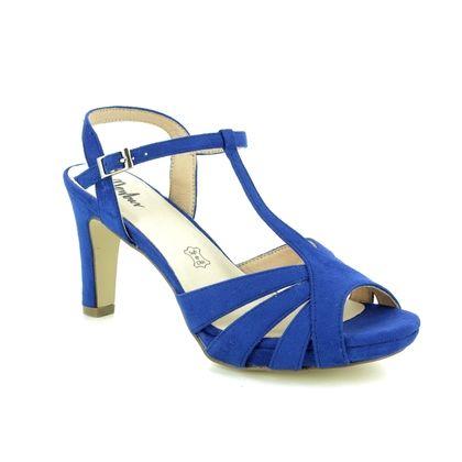Menbur Heeled Sandals - Blue - 09553/66 CALDARO