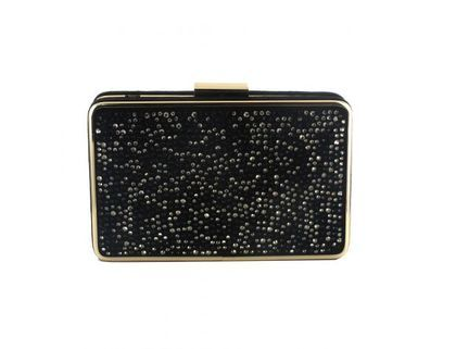Menbur Occasion Handbags - Black Glitz - 84491/01 DOTTI BAG