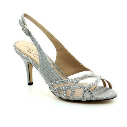 Menbur Heeled Shoes - Silver - 07532/09 PUERTO PRINCIP