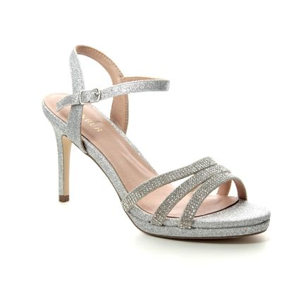 Menbur Heeled Sandals - Silver - 20294/09 VERIGATE