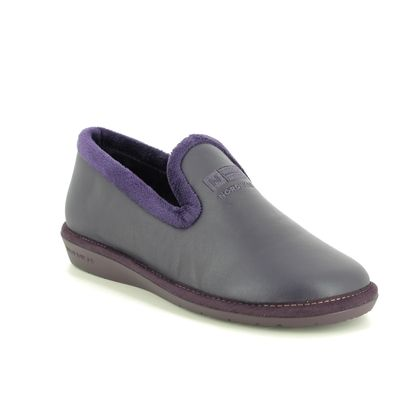 Nordikas Slippers & Mules - Purple Leather - 305/4 TABACKIN 95