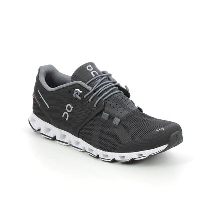 On Running Trainers - Black-white - 190001 CLOUD WOMENS