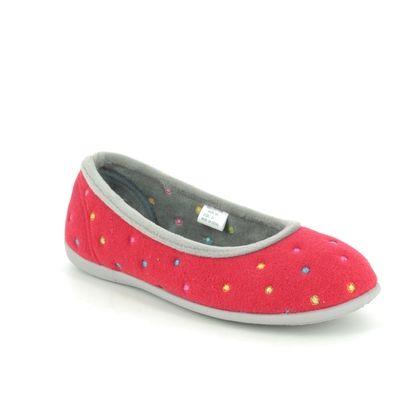 Padders Slippers & Mules - Red multi - 4025-44 BALLERINA E FIT