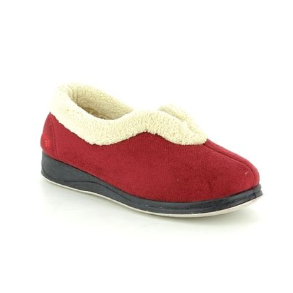 Padders Slippers & Mules - Red - 417/42 CARMEN 2E FIT
