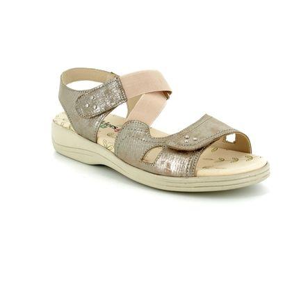 Padders Comfortable Sandals - Metallic - 0769/64 CRUISE 3E-4E