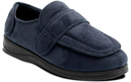 Padders Slippers & Mules - Navy - 427/24 ENFOLD 2E FIT