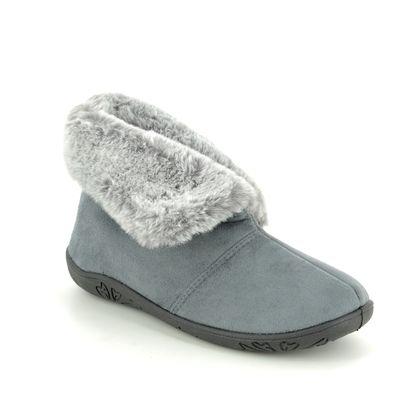 Padders Slippers & Mules - Grey - 4050-99 ESME   EE FIT