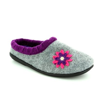 Padders Slippers & Mules - Grey - 4018/97 FREESIA 2E-3E FIT