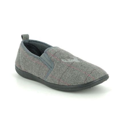 Padders Slippers & Mules - Grey - 0489-97 HUNTSMAN G FIT