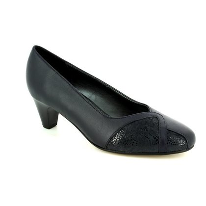 Padders Court Shoes - Navy - 2005/96 JOANNA 2E FIT