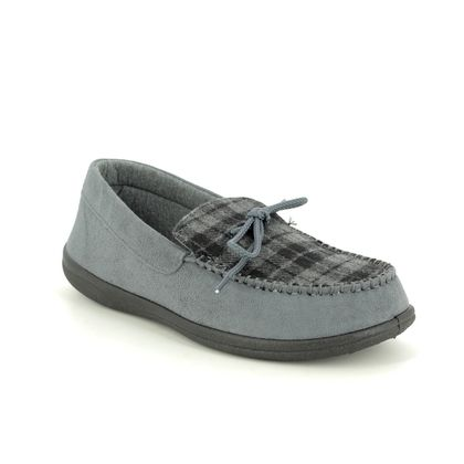 Padders Slippers & Mules - Grey - 0432-97 LOUNGE G FIT