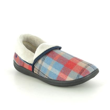 Padders Slippers - Blue - 0460-54 MELLOW EE FIT