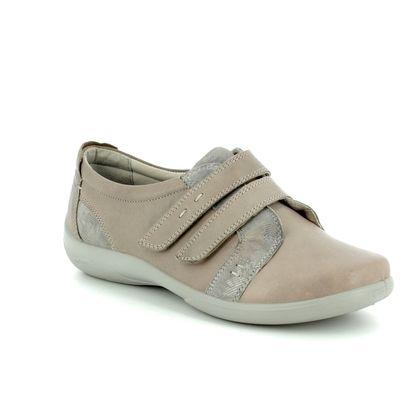 Padders Comfort Slip On Shoes - Beige - 0877/99 PIANO  2E-3E