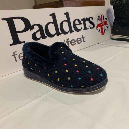 Padders Slippers & Mules - Navy - 0406-4007 REPOSE EE FIT