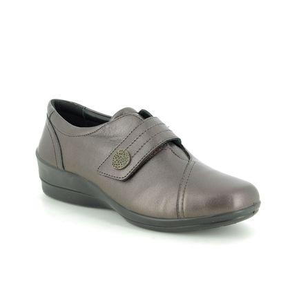 Padders Comfort Slip On Shoes - Metallic - 0252-19 SIMONE 3 E-EE