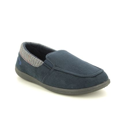 Padders Slippers & Mules - Navy - 3226-4000 STAN   G FIT