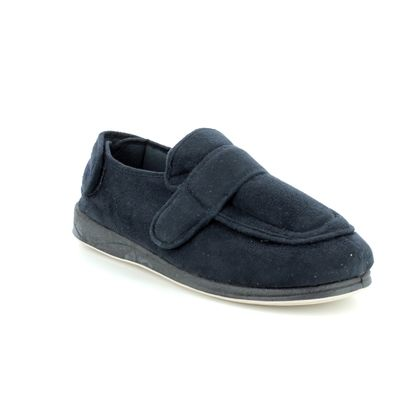 Padders Slippers & Mules - Navy - 0429/24 WRAP ENFOLD 2E FIT