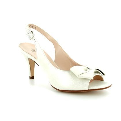 Peter Kaiser Heeled Sandals - Oyster Pearl - 82127/457 BERINA