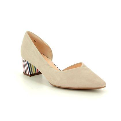 Peter Kaiser Court Shoes - Beige suede - 47335/921 BIELA
