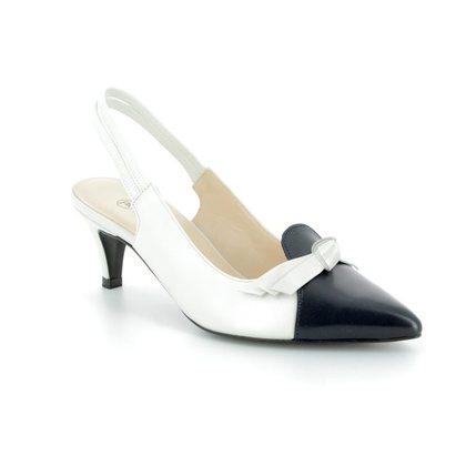 Peter Kaiser Court Shoes - Navy - 55137/070 CIMERA