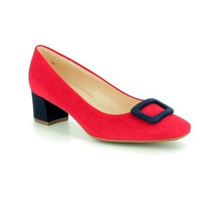 Peter Kaiser Court Shoes - Red multi - 541143/864 GAMIZA