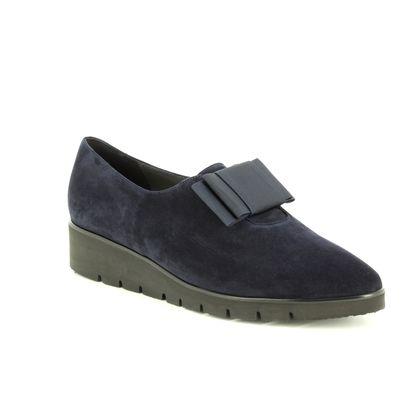 Peter Kaiser Comfort Slip On Shoes - Navy suede - 20205/963 NELDA