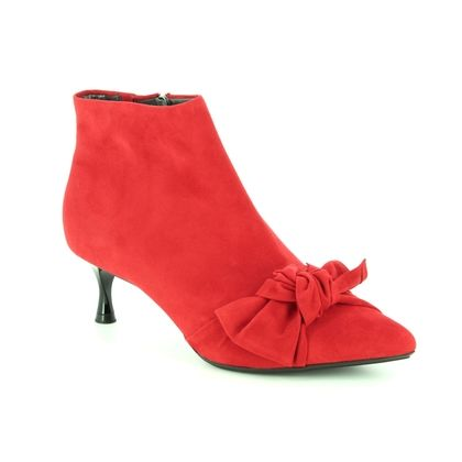 Peter Kaiser Fashion Ankle Boots - Red suede - 09229/135 QENCE