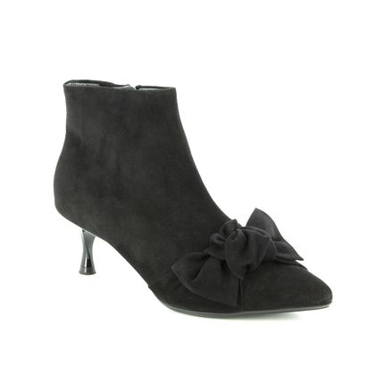 Peter Kaiser Fashion Ankle Boots - Black Suede - 09229/240 QENCE